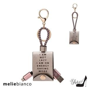 Melie Bianco Accessories - Melie Bianco Black USB iPhone Charger